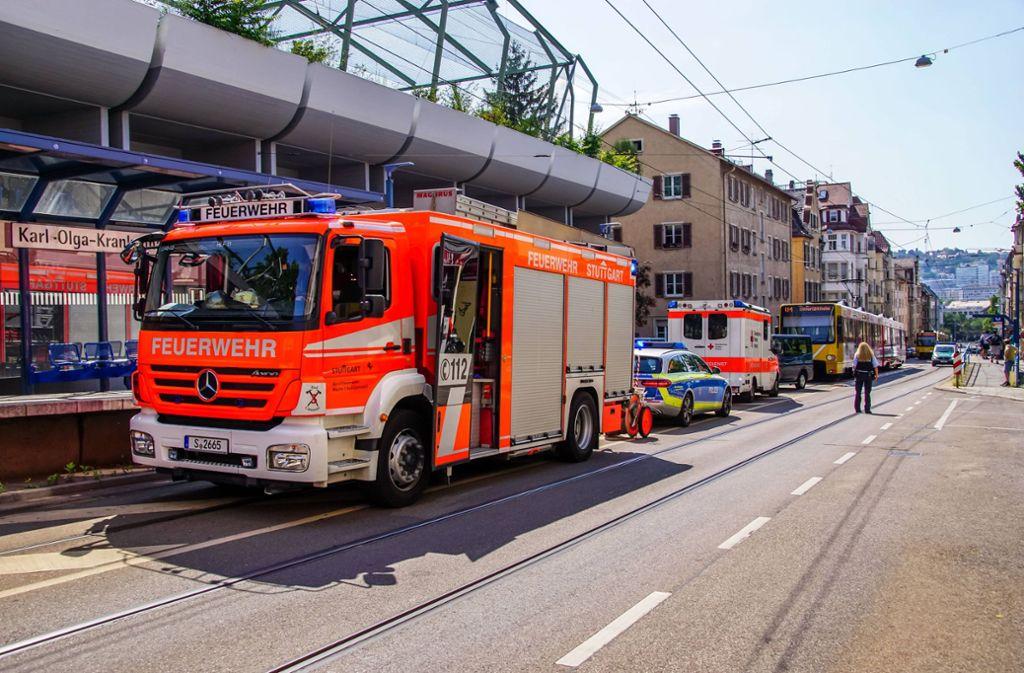 ... dabei sind fünf Menschen verletzt worden. Foto: 7aktuell.de/Andreas Werner