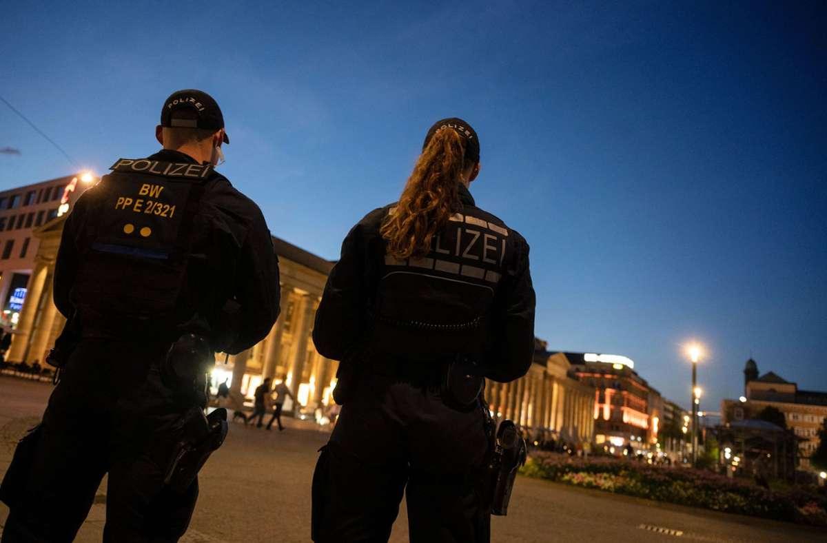 Unter der Woche sowie an Wochenenden tagsüber ist es in der Stuttgarter City in aller Regel ruhig. Die meisten Straftaten konzentrieren sich auf die Wochenend-Nächte. Foto: dpa/Marijan Murat