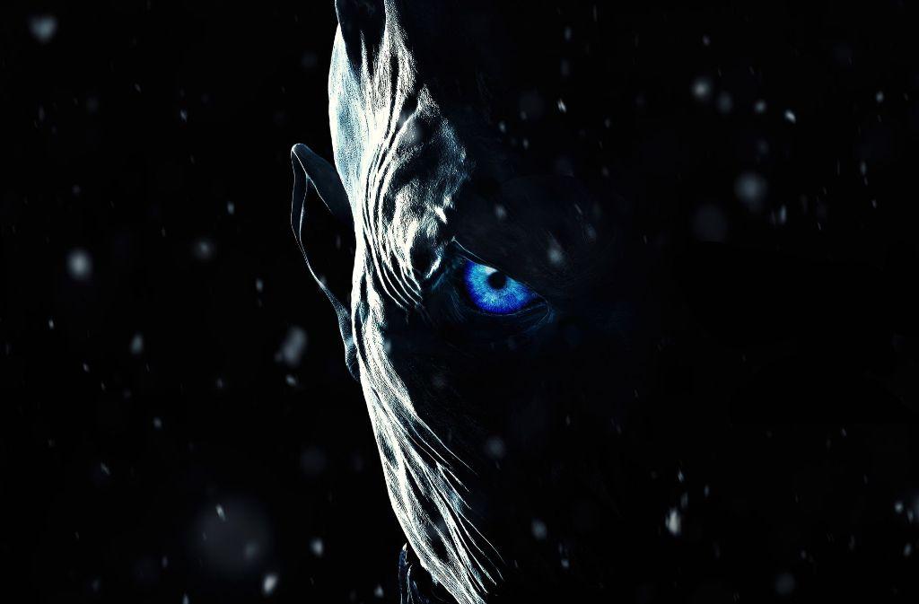 """Vielversprechend gruselig ist das offizielle Plaaktmotiv zur siebten Staffel von """"Game of Thrones"""": Die Untoten kommen. Foto: HBO"""