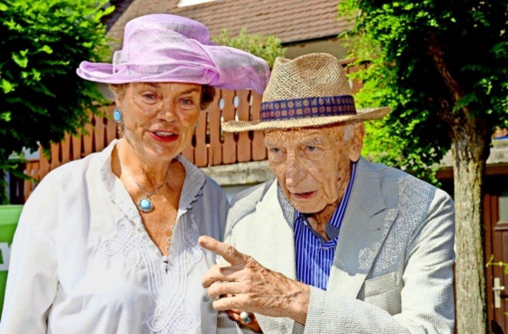 Das Pflegeheim von Altbundespräsident Walter Scheel hat Vorwürfe gegen dessen Frau Barbara erhoben. Foto: dpa