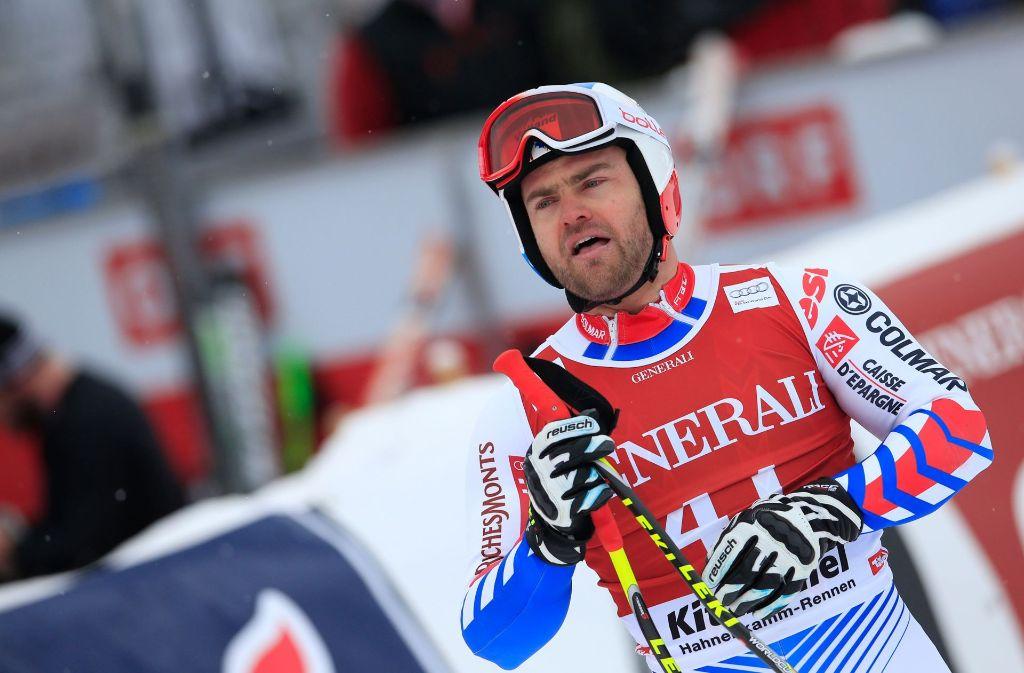 Der französische Skifahrer David Poisson ist tot. Foto: AFP