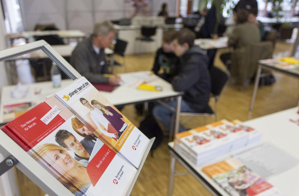 Die Berufsberatung kommt jetzt in die Schule. Foto: FACTUM-WEISE/Andreas Weise