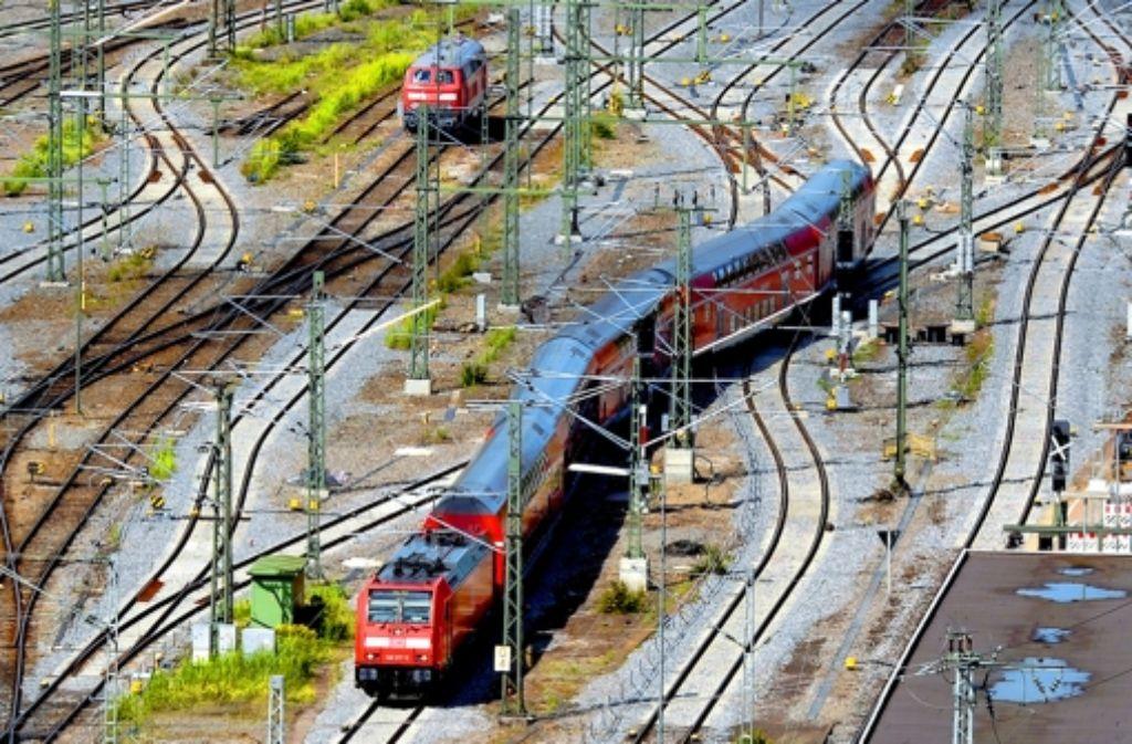 Bei Projekten wie Stuttgart 21 muss die Bahn wohl stärker ins Risiko gehen. Foto: dpa
