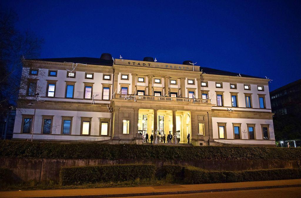 Das Stadtpalais wird wieder zur Bühne: diesmal für die Stuttgarter Popszene. Foto: dpa/Sebastian Gollnow