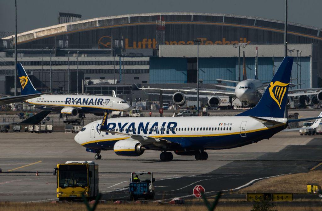 Der Billigflieger hatte 150 Verbindungen abgesagt. Foto: dpa