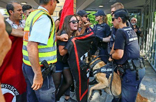 AfD lockt nur wenig Bürger in den Bürgersaal