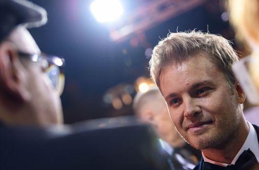 Becker gibt sich wortkarg, Rosberg plaudert munter
