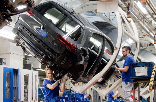 Volkswagen startet Produktion mit geringer Auslastung