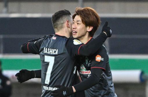 Werder Bremen zieht in das Halbfinale ein