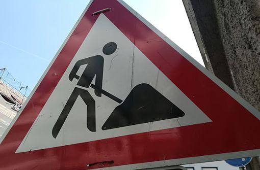 Waiblinger Straße voll gesperrt