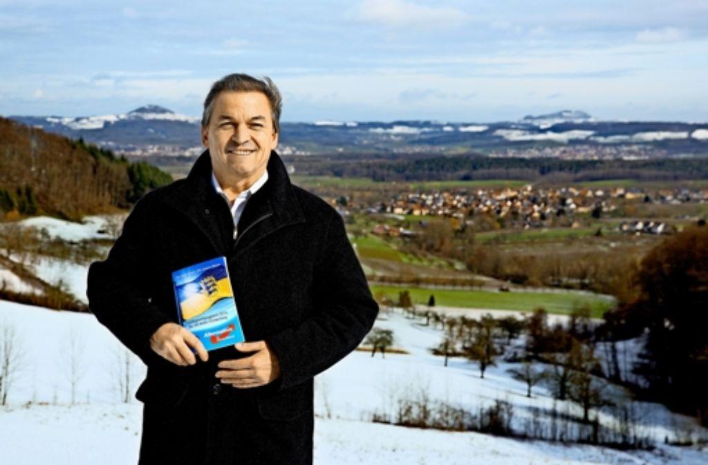 Oberhalb von Schlat findet Willy Kotzbauer immer den rechten Weg. Foto: Horst Rudel