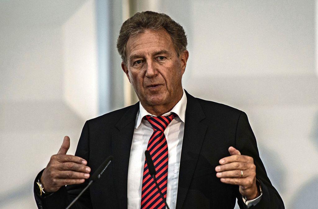 Norbert Barthle will sich im kommenden Jahr nicht erneut auf ein Mandat in Berlin bewerben. Foto: picture alliance / dpa/Wolfram Kastl