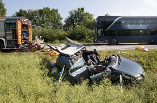 Ermittlungen laufen nach Busunglück mit 28 Verletzten