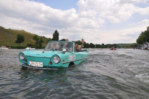 Was schwimmt denn da im Neckar?