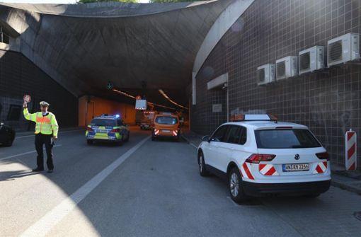 Kappelbergtunnel Richtung Stuttgart wieder frei