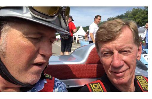 Mit der Rallye-Legende auf der legendären Rennstrecke