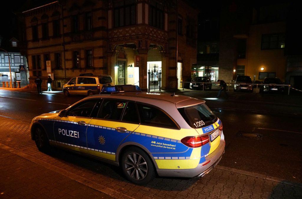 Bei der blutigen Auseinandersetzung in der Plochinger Innenstadt wurden zwei Menschen verletzt. Foto: SDMG/SDMG / Kohls