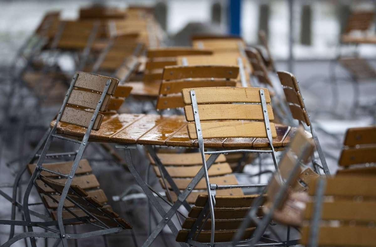 Viele Gastronomiebetrieben auf dem Land kämpfen aufgrund des Lockdowns ums Überleben. (Symbolbild) Foto: imago images/photothek/Florian Gaertner/photothek.de via www.imago-images.de