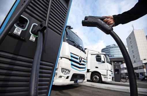Daimler Truck baut Elektro-Antriebe