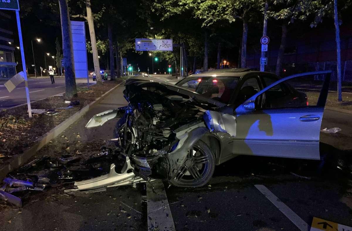 Die Ursache des Unfalls ist derzeit unklar. Foto: 7aktuell.de/Kevin Müller/7aktuell.de | Kevin Müller