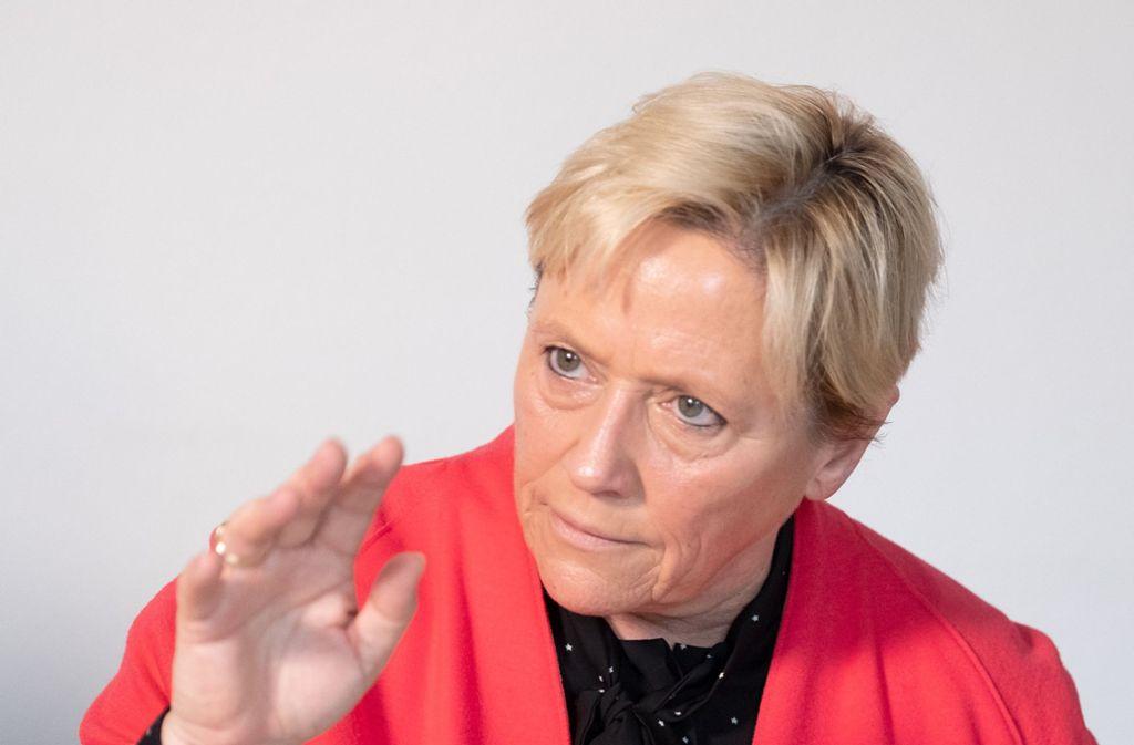 Susanne Eisemann (CDU) will, dass die Schüler nicht während der Schulzeit demonstrieren gehen. Foto: dpa