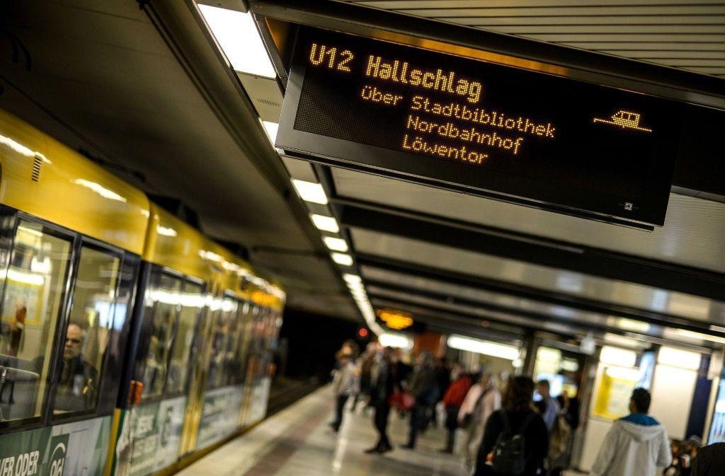 Im Stadtbahnverkehr kommt es am Wochenende zu Fahrplanänderungen. Foto: Lichtgut/Leif Piechowski