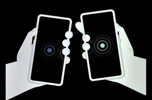 Schnell und sicher Daten von Handy zu Handy senden