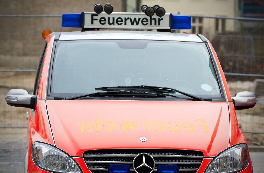 Die Feuerwehr rückte zu einem Brand  in Frickenhausen aus. Foto: dpa