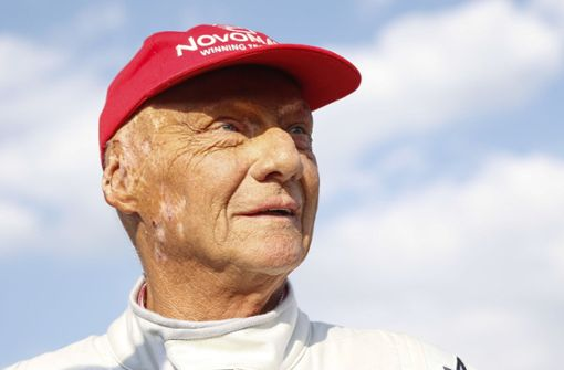 Niki Lauda auf dem Weg der Besserung