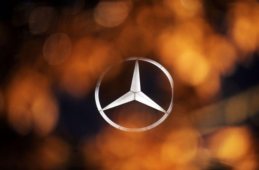 Daimler bestätigte den Erpressungsversuch. Foto: dapd/Sascha Schuermann
