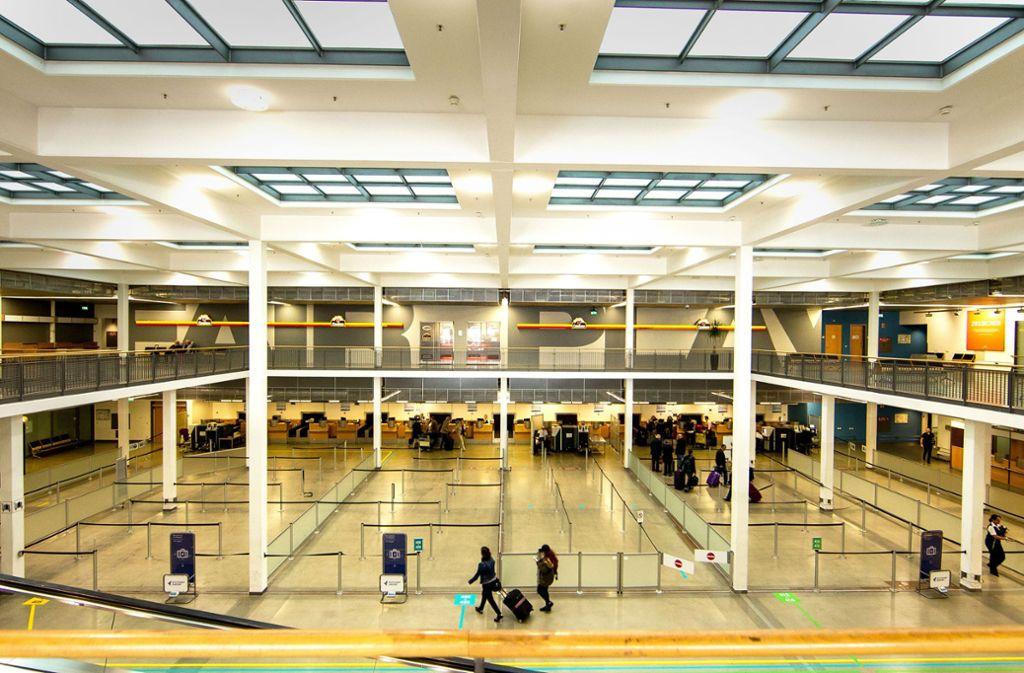 Das alte Terminal 4 Foto: Lichtgut/Piechowski