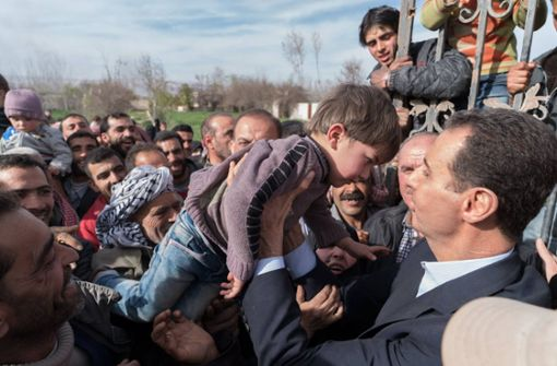Assad beglückwünscht Truppen in Ost-Ghuta