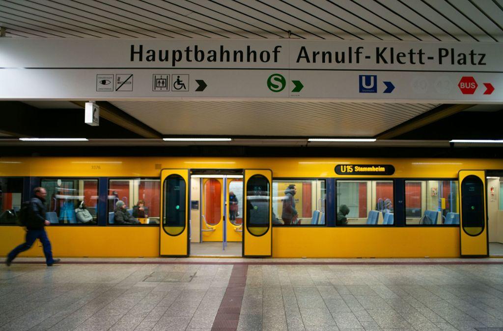 Am Mittwochmorgen war wenig los in den Stadtbahnen, die Fahrgäste konnten einen größeren Abstand zueinander halten. Foto: Lichtgut/Leif Piechowski