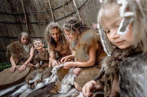 Live-Experiment: Leben wie in der Steinzeit