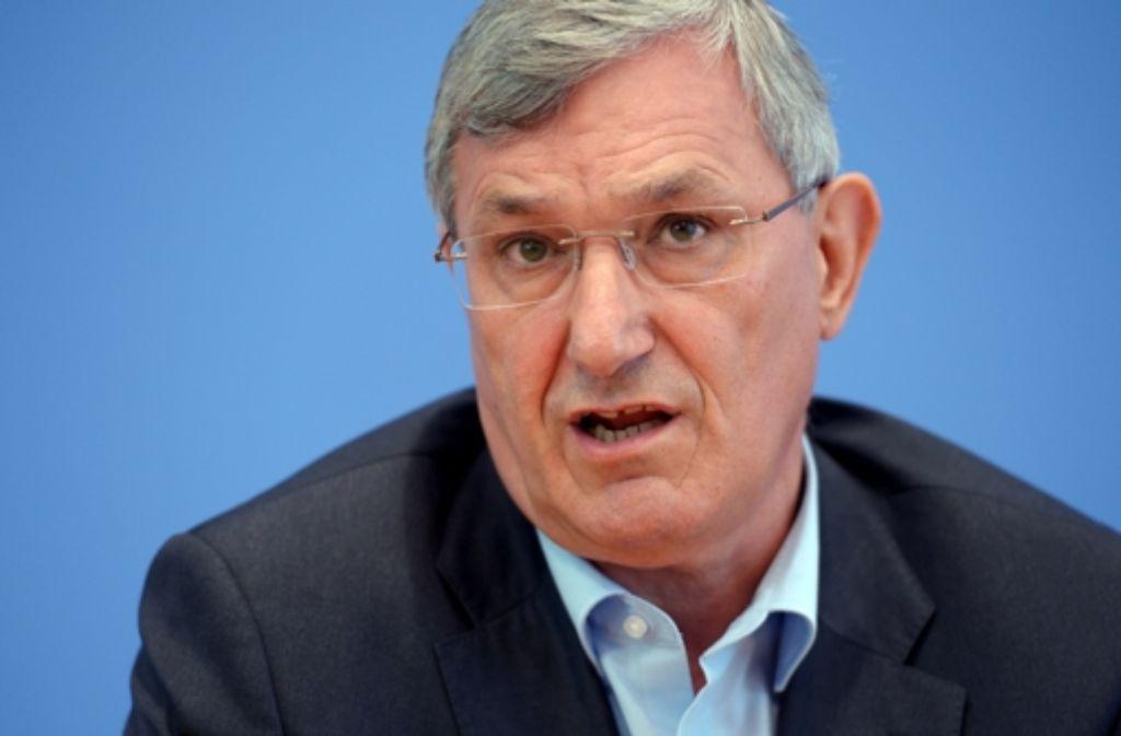 Der Spitzenkandidat der Linken im Südwesten, Bernd Riexinger. Foto: dpa
