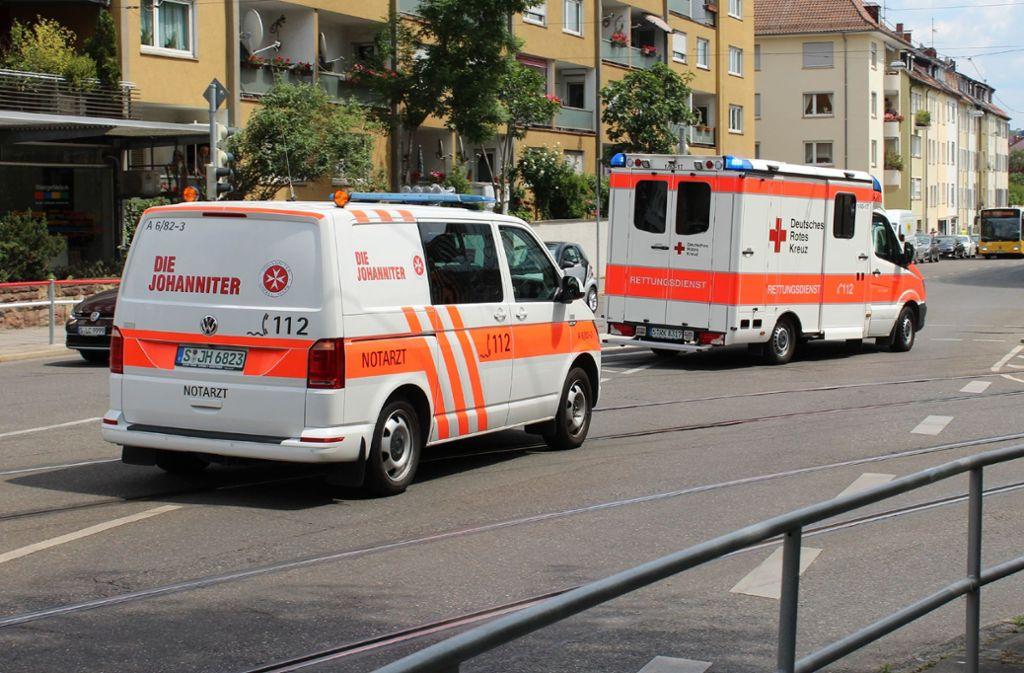 Ein Autofahrer hat an der Kreuzung Hegel-/Seidenstraße eine 17-Jährige erfasst. Foto: SDMG/SDMG / Schulz
