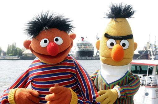 Streit um Kuchen mit Ernie und Bert als Schwulen-Botschafter