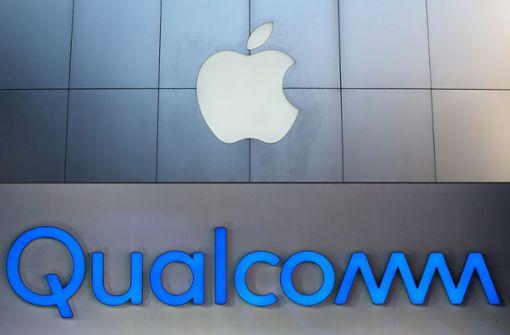 Apple und Qualcomm legen Patentstreit bei