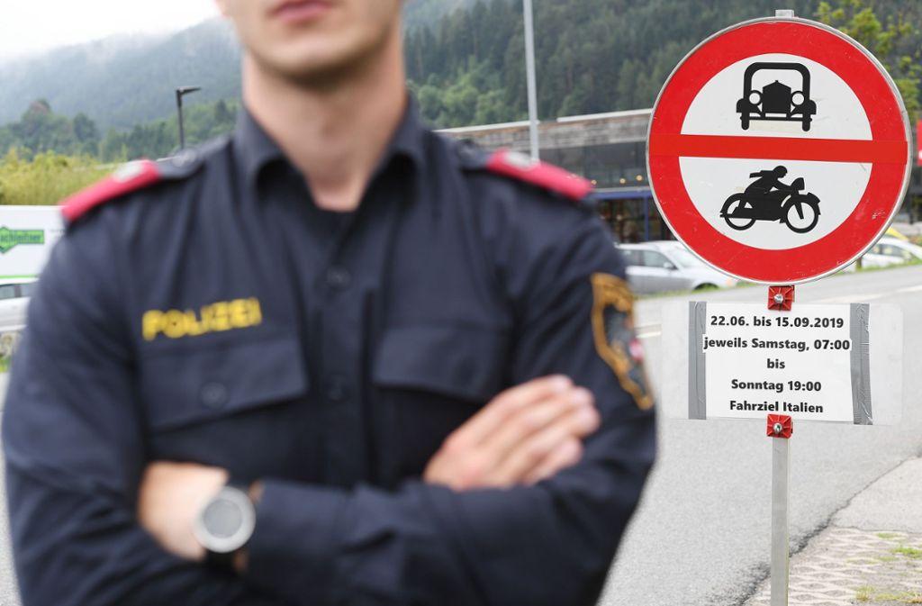 In Tirol kommt es zu weiteren Fahrverboten. Foto: dpa