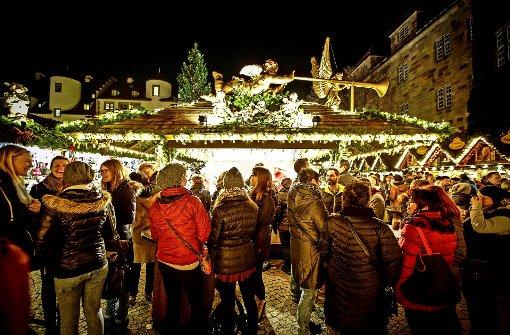 Stuttgarter Weihnachtsmarkt länger geöffnet