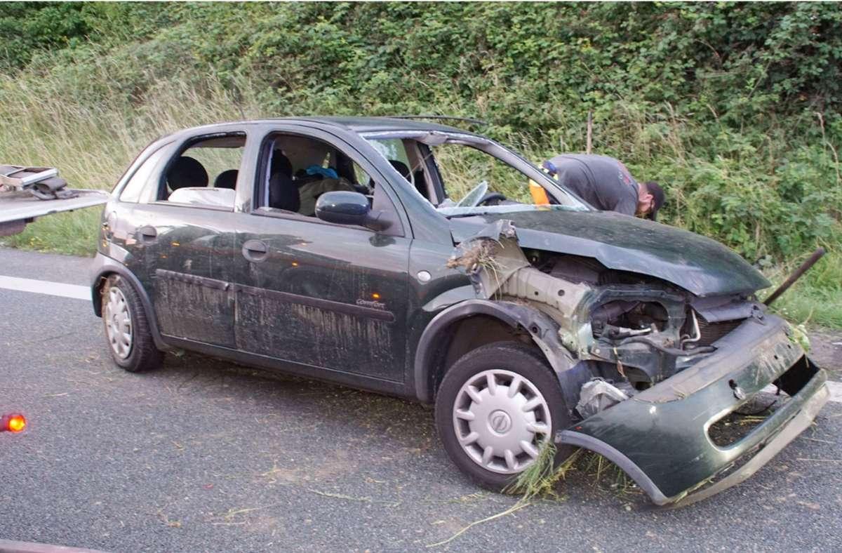 Der Unfall ereignete sich auf der A8 bei Pforzheim. Foto: SDMG/SDMG / Gress