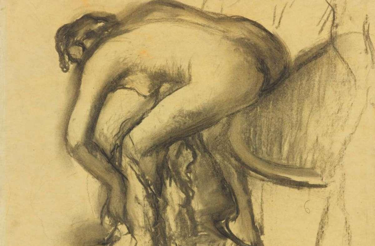 Zu Zeiten von Edgar Degas war es selbstverständlich, dass Männer nackte Frauen malen. Foto: Staatsgalerie Stuttgart cf