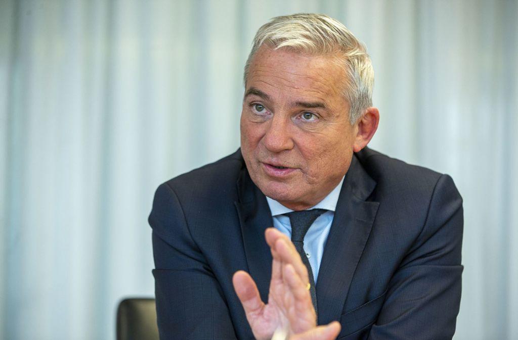 Innenminister Baden Württemberg