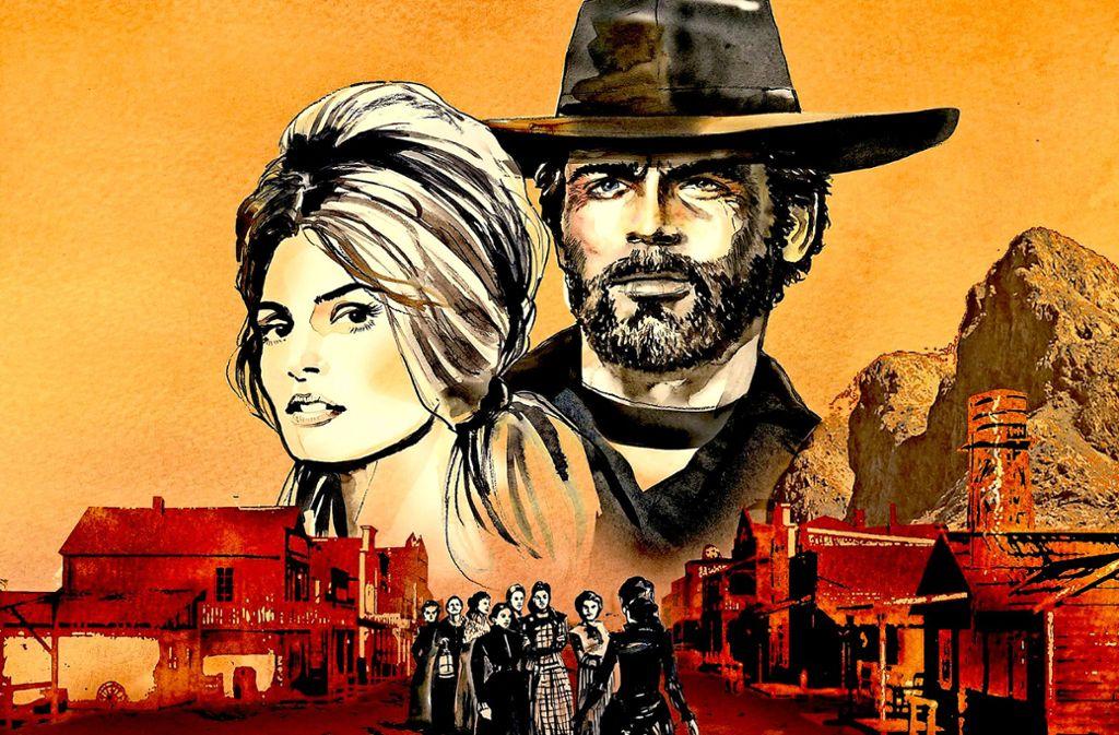 """Auch das Plattencover von """"No Place For A Man"""" ist eine Hommage an den Spaghetti-Western. Foto: Promo"""