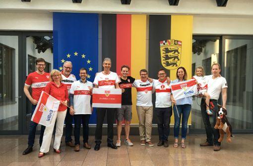 "VfB-Fans in Brüssel gründen Fanclub ""EUs"""