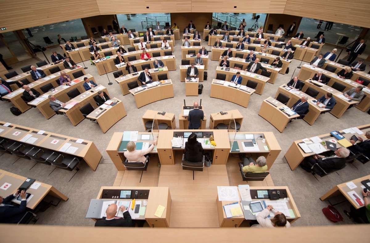 Bislang ist die Linkspartei im baden-württembergischen Landtag nicht vertreten. Foto: dpa/Marijan Murat