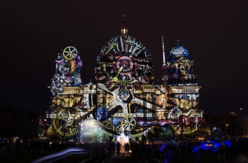 Diese  Lichtinstallationen begeistern in deutschen Großstädten