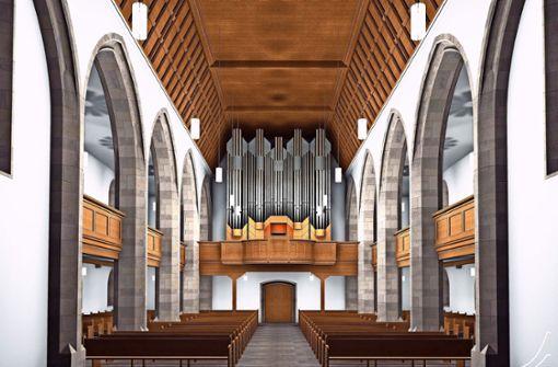 Amtsschimmel verzögert Orgel-Einbau