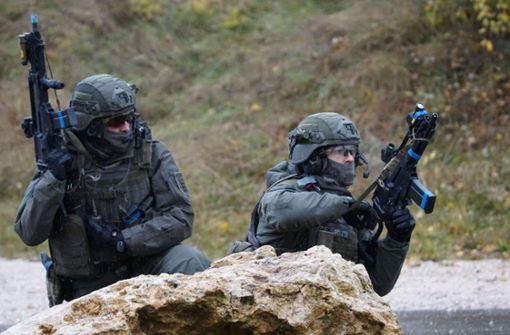 Polizei und Bundeswehr üben Kampf gegen Terroristen