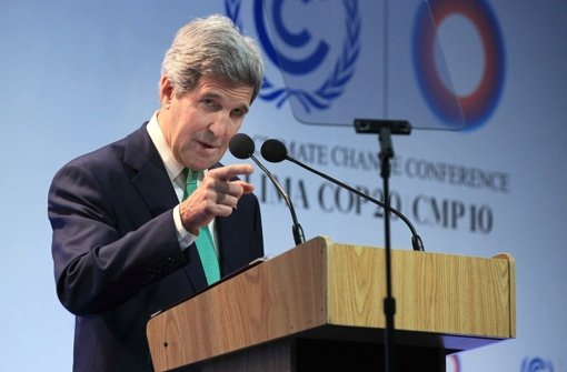 Kerry plant Besuch in Frankreich